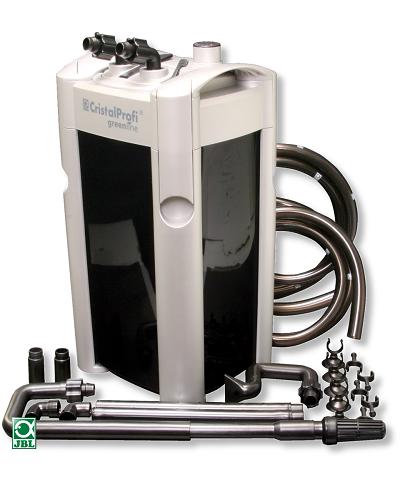 The JBL Greenline 1501e external filter